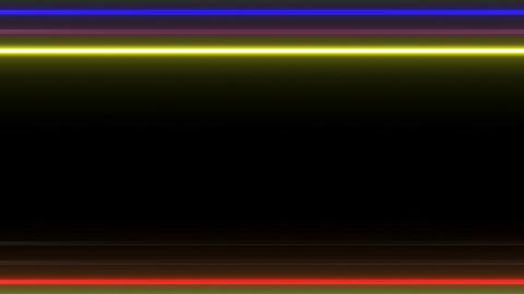 Neon tube W Ybf S L 1 HD 動画素材, ムービー映像素材