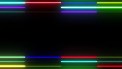 Neon tube W Ybf S S 1 HD Stock Video Footage