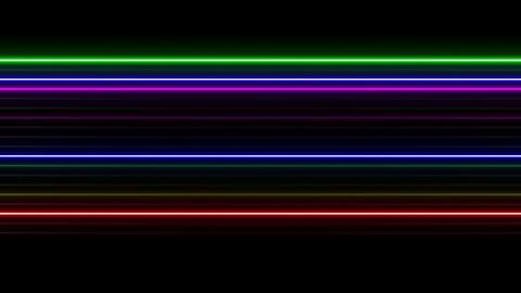 Neon tube W Ysf S L 1 HD CG動画