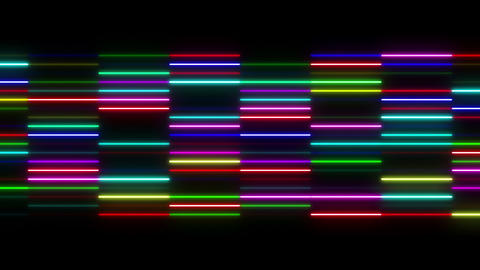 Neon tube W Ysf S S 1 HD Stock Video Footage