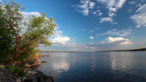 river landscape - timelapse Footage