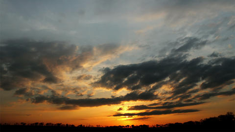 sunset - timelapse Stock Video Footage