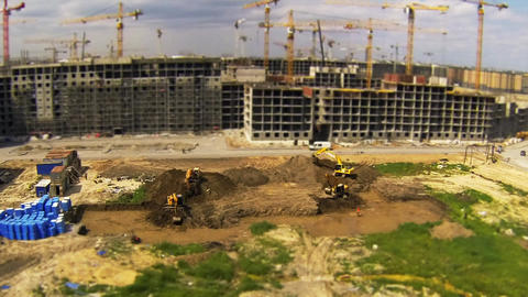 digging Stock Video Footage