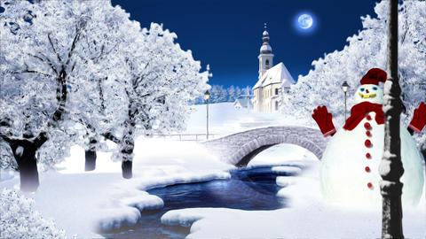 Winter 1 Landscape Animation