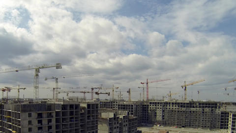 Estate Development stock footage