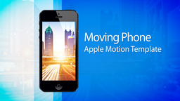 Moving Phone 15s Commercial - Apple Motion and Final Cut Pro X Template Apple-Motion-Projekt