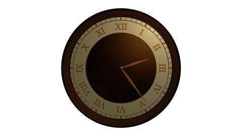 roman ancient clock Stock Video Footage