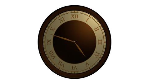 roman ancient clock Animation