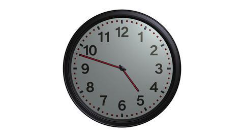 elegant wall clock Stock Video Footage