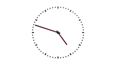 transparent simple clock Animation