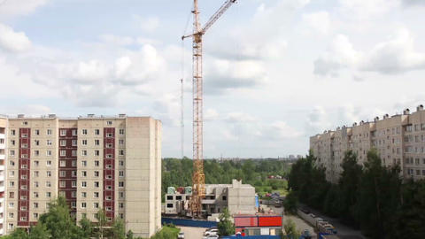 Building Fast construction Stock Video Footage