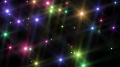 Multicolor flash lights Stock Video Footage