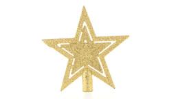Christmas decoration star Stock Video Footage