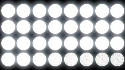 4 K Led Lights 2 Stock Video Footage