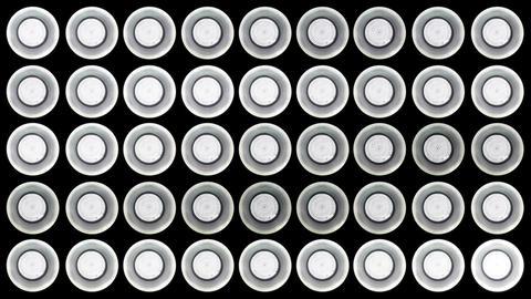 4 K Led Lights 4 Stock Video Footage