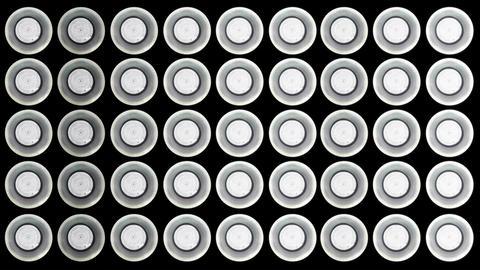 4 K Led Lights 6 Stock Video Footage