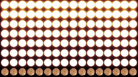 4 K Led Lights 13 red Stock Video Footage
