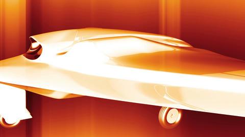4 K Sentinel Type Drone 4 Animation