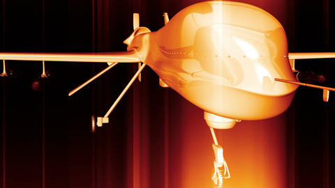 Predator Type Drone 2 Animation