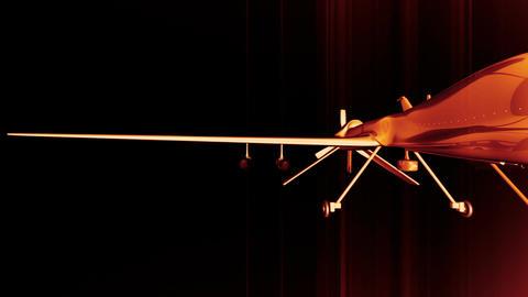 Predator Type Drone 6 Stock Video Footage