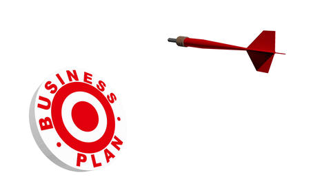 Business Plan Target Metaphor Animation