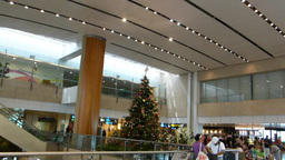 Singapore Changi Airport Terminal 2.(SINGAPORE CHA Stock Video Footage
