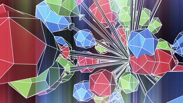 Abstract art background,Cartoon toys&Fairy tale... Stock Video Footage