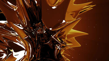 Dynamic abstract metal material.Alloy high-tech science fiction,nanotechnology Animation