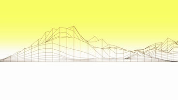Abstract fluctuations grid line art,vibrating musical... Stock Video Footage