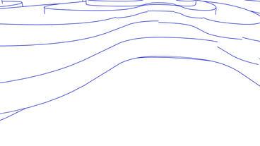 Abstract Latitude&longitude line,satellite GPS... Stock Video Footage