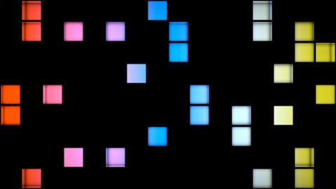 FUNKY GLOSSINESS 004 vj loop Stock Video Footage