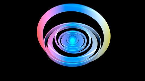 FUNKY GLOSSINESS 006 vj loop Stock Video Footage