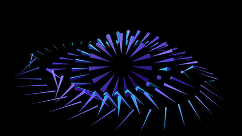 PYRAMIDS 002 vj loop Animation