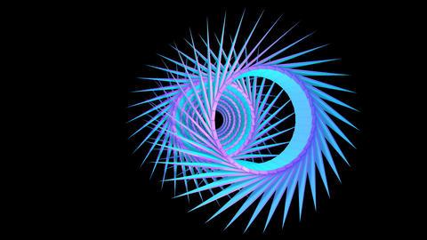 PYRAMIDS 017 vj loop Animation
