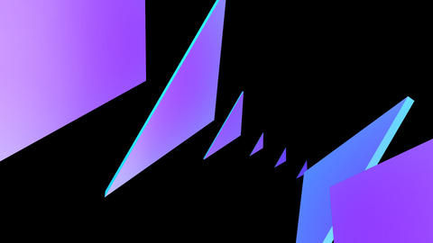 PYRAMIDS 018 vj loop Stock Video Footage