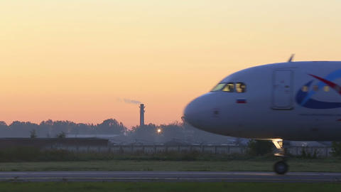 Morning flight Stock Video Footage