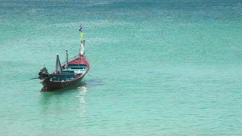 Fishing boat Stock Video Footage
