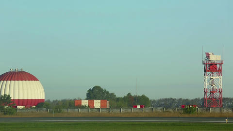 Airfield Stock Video Footage