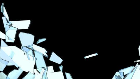Glass Break 05 Stock Video Footage