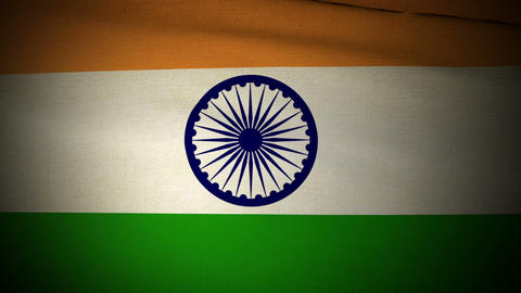 Flag India 04 Animation