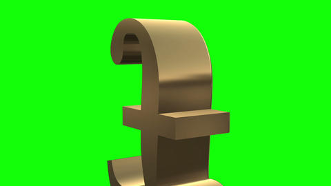 Pound sign close up rotates and moves Stock Video Footage