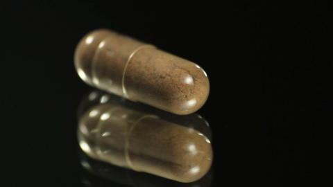 Natural Capsules stock footage