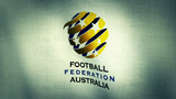 Australia National Football Team Flag (Loopable) stock footage