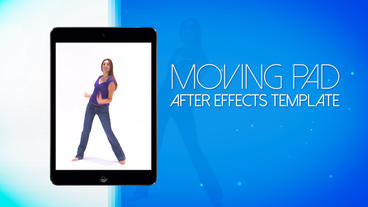 Moving Pad 15s Commercial - After Effects Template After Effects Project