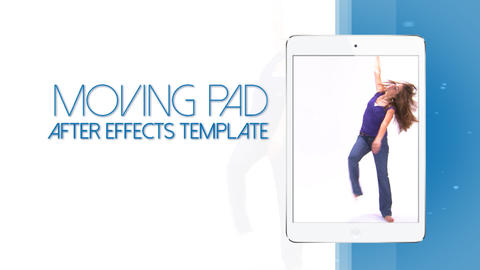 Moving Pad 15s Commercial (white edition) - After Effects Template After Effectsテンプレート