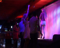People Enjoying in Dance Club Footage