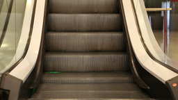 Close-Up of Escalator Footage