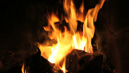 Hot Flames stock footage