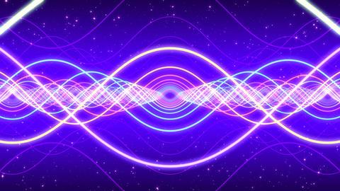 Light waves Animation