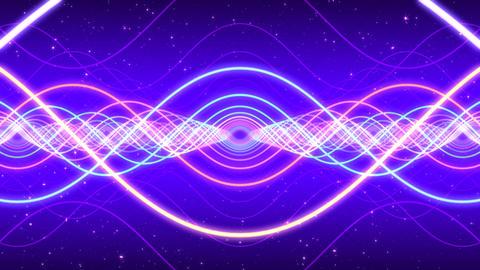 Light waves Stock Video Footage